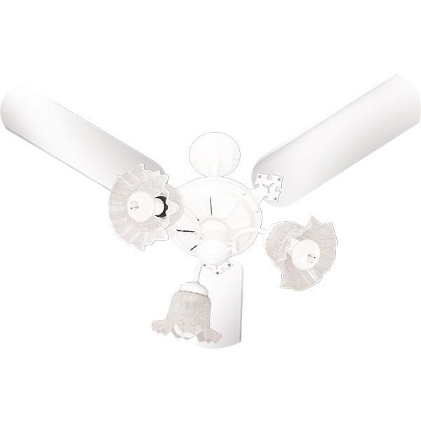 Ventilador de Teto New Beta 3 Pás 127V Branco-Venti Delta