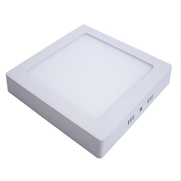 Painel Led de Sobrepor Quadrado 18W 6500K Branco Frio Pix
