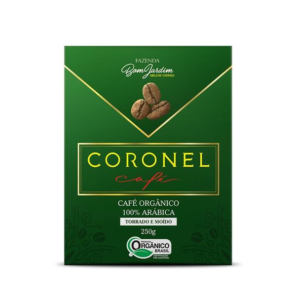 Coronel Café Orgânico Torrado e Moído - 250g
