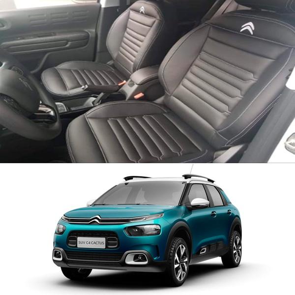 Revestimento Banco de Couro Citroën C4 Cactus
