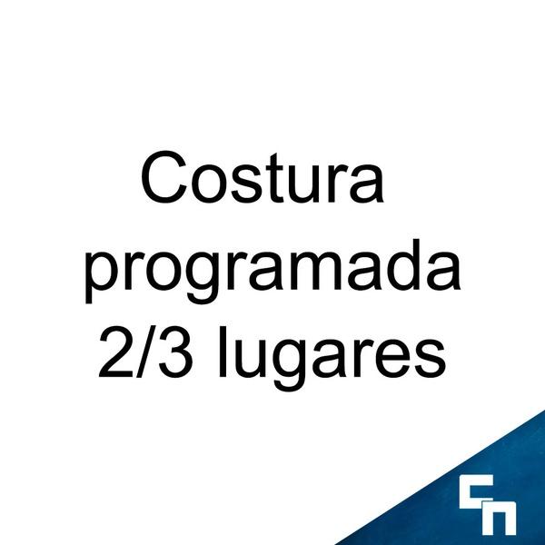 Costura Programada 2/3 Lugares