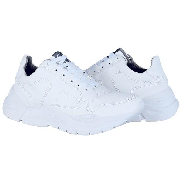 Tênis Feminino Modelo Chunky Crshoes Branco