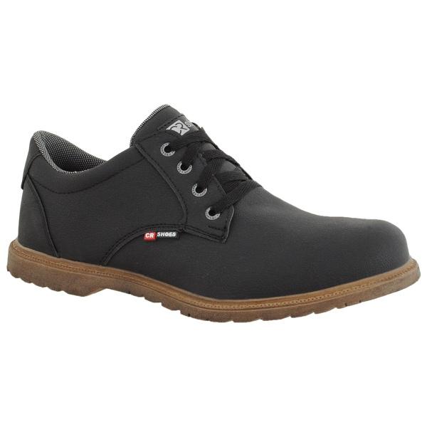 Sapatenis casual masculino CRshoes preto