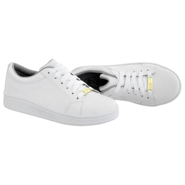 Tênis Feminino Infantil CRShoes Branco