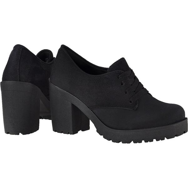 Oxford feminino tratorado CRshoes camurca preto