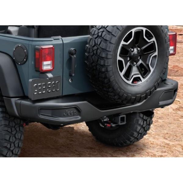 Para-Choque Traseiro em Aço Jeep Wrangler JK Modelo Hard Rock Rubicon 2007/2018
