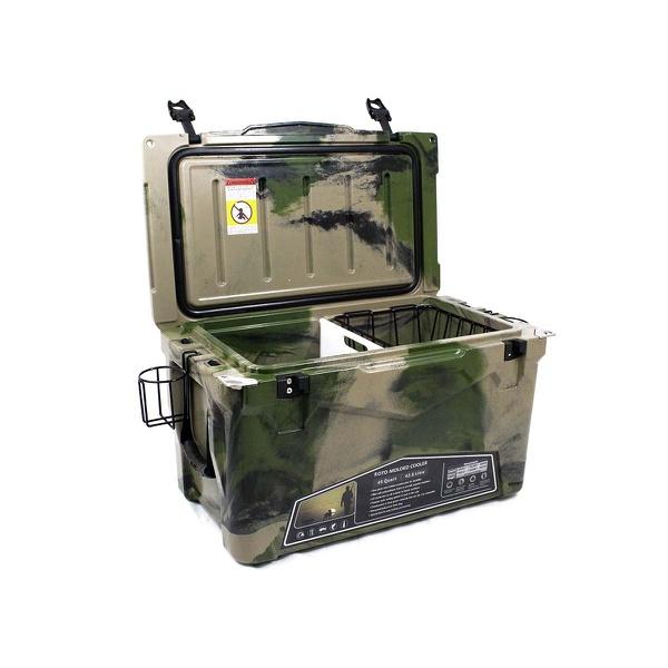 Caixa Térmica Militar Ultra Resistente Gelo 45 Litros