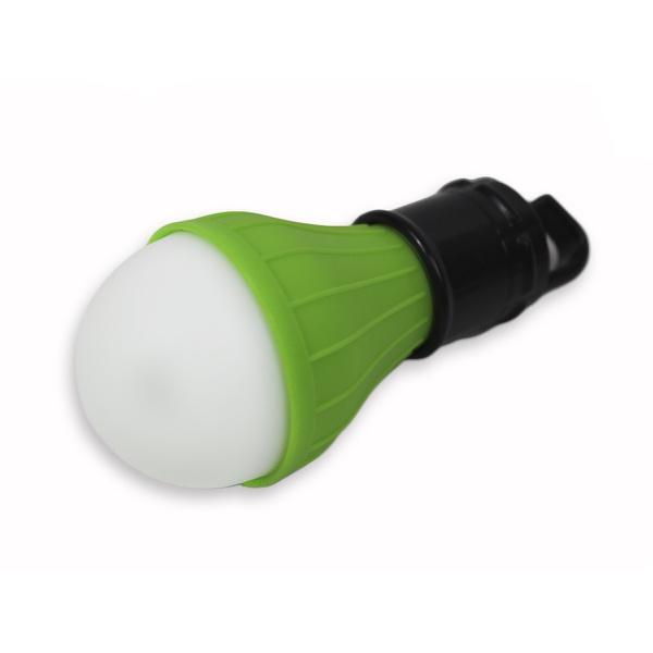 Lanterna De Led Bulbo Para Camping - Verde