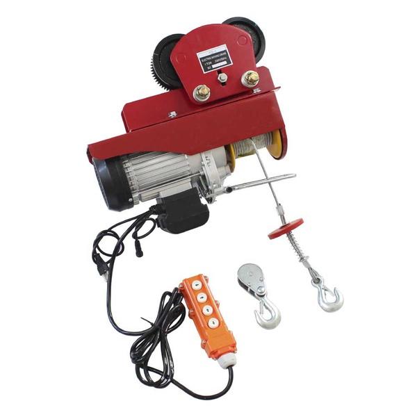 Talha Elétrica Dandaro Modelo D-800t Com Troley Lateral Capacidade 400 / 800 Kg - 220v - 1450w