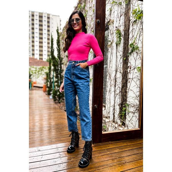 Calça jeans straing vida bela