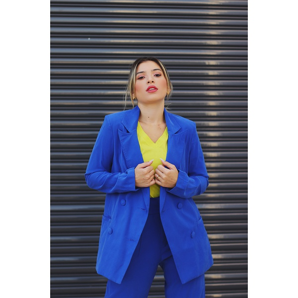 Blazer azul vida bela