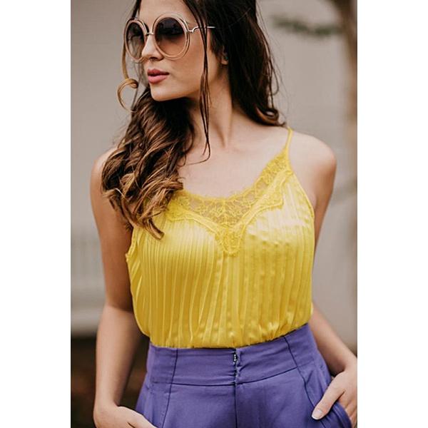 Blusa Cilene Amarela