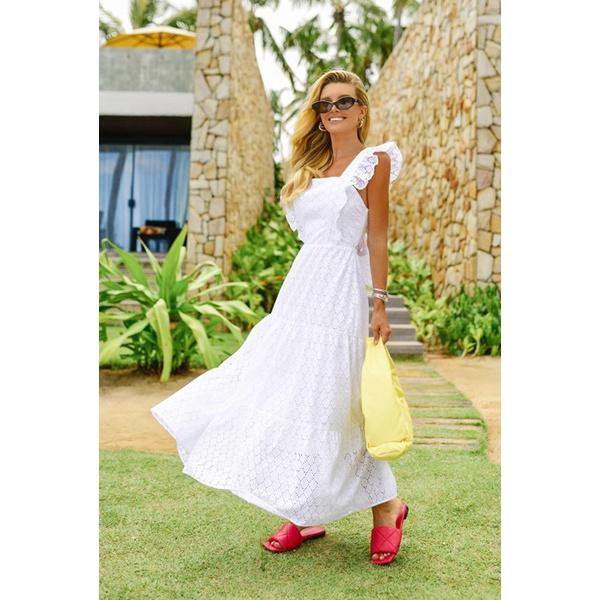 Vestido Megan Branco