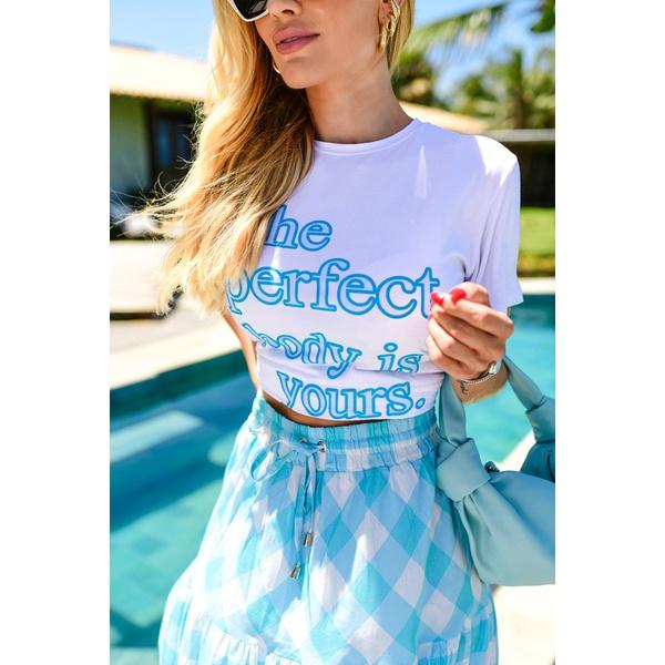 T-SHIRT Francine Azul