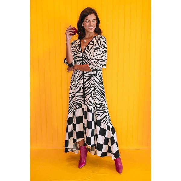 Vestido Blessed Midi Marcela