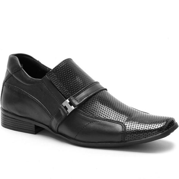 Sapato Social Ded Calçados Fivela Couro Masculino