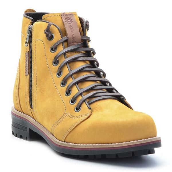 Bota Masculina Casual Amarela