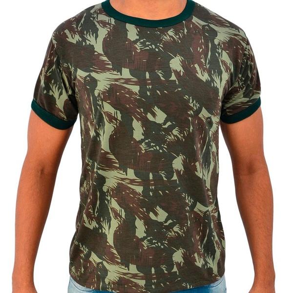 Camiseta Camuflada Masculina