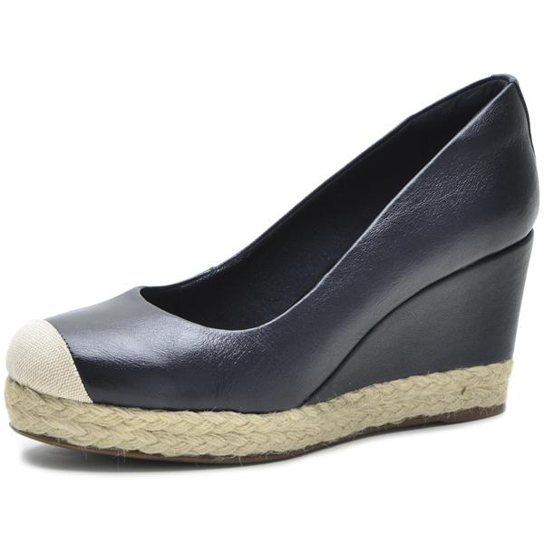 Sapato Feminino DeR Shoes Em Couro Legítimo Day By Day Preto