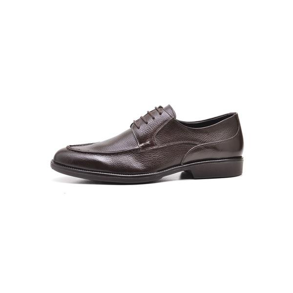 Sapato Social Masculino Em Couro Legítimo Café