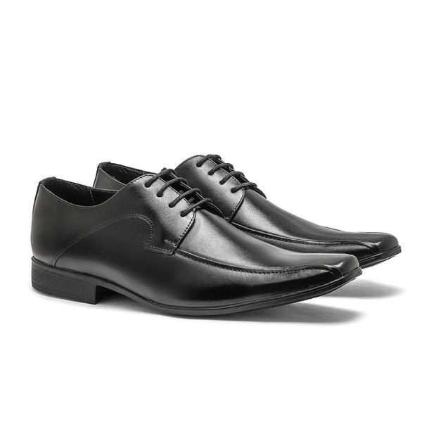 Sapato Social Masculino em Couro Legitimo Ref 1064