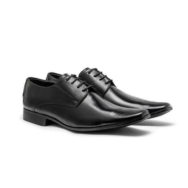 Sapato Social Masculino em Couro Legitimo Ref 2316