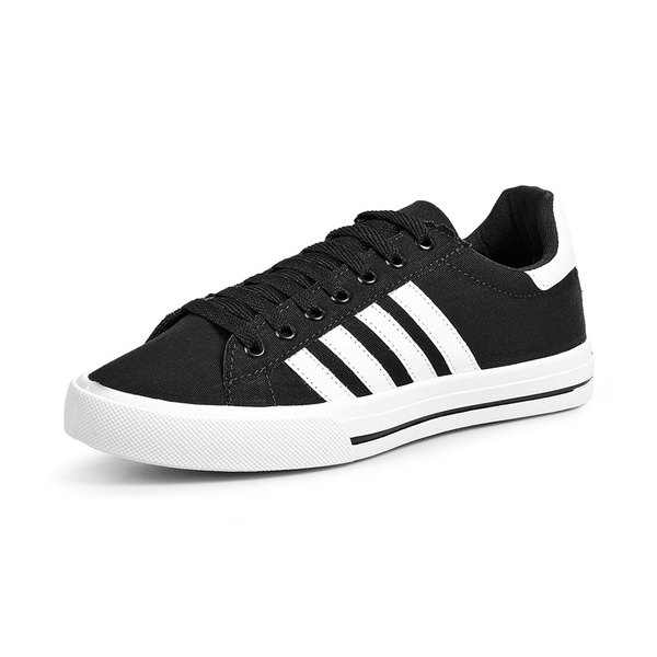 Tênis Lona Star Feet Young Stripes Difranca - 027FA - Preto