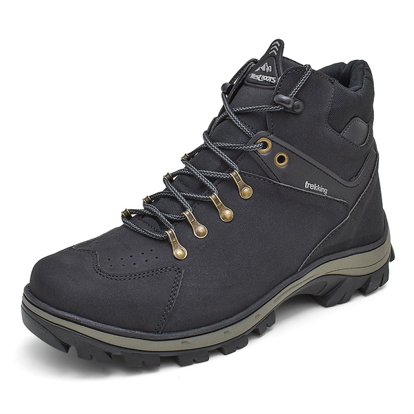 Bota Adventure Off Survivor Trekking Atacama West Line - 144 - Preto