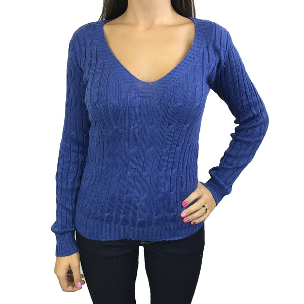 Sueter Tricot - Azul