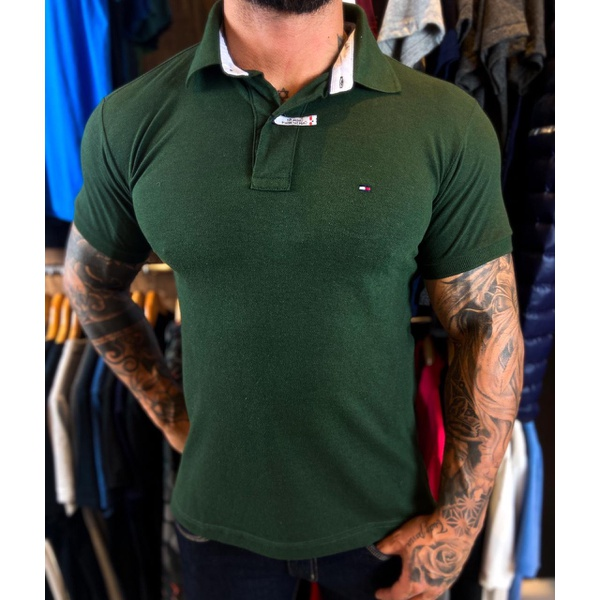 Polo Importada Tommy Hilfiger - Verde