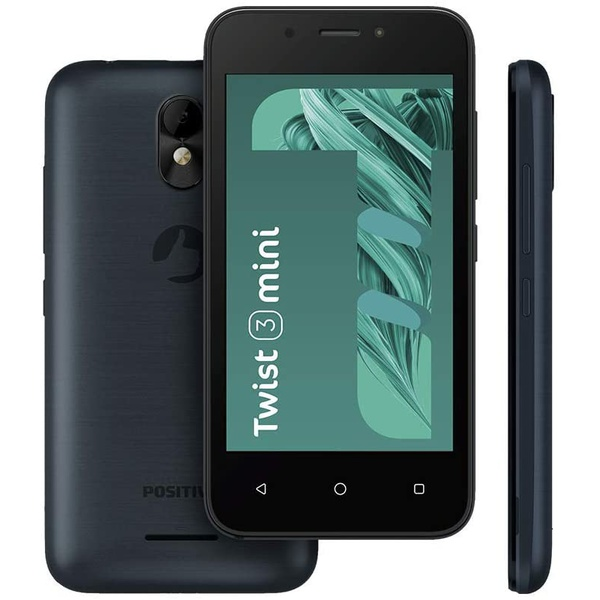 Smartphone Positivo Twist 3 Mini 16gb - S431B, Grafite