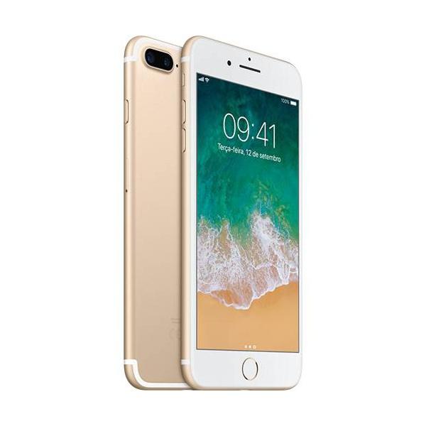 "iPhone 7 Plus 32GB dourado Tela Retina HD 5,5"" 3D Touch Câmera Dupla de 12MP - Apple"