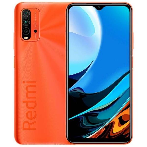 Smartphone Xiaomi Redmi 9T 4GB ram 128GB - Versão Global - laranja