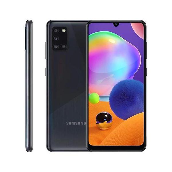 """Smartphone Samsung Galaxy A31 Preto 128GB, 4GB RAM, Tela Infinita de 6.4"""", Câmera Traseira Quádrupla, Leitor Digital na Tela e Android 10.0"""