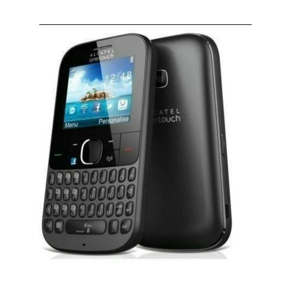 Celular Alcatel 3075 Bluetooth Wi-fi Mp3 Redes Sociais Preto