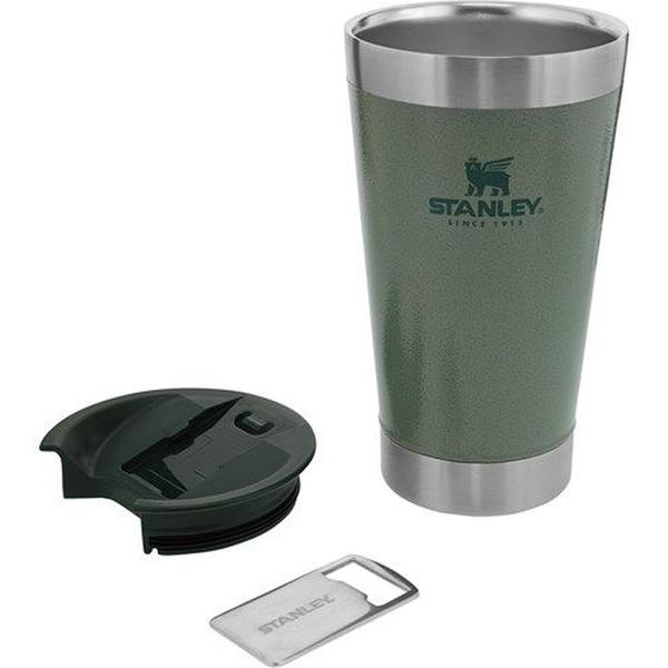 Copo Térmico De Cerveja Stanley C/Tampa Verde