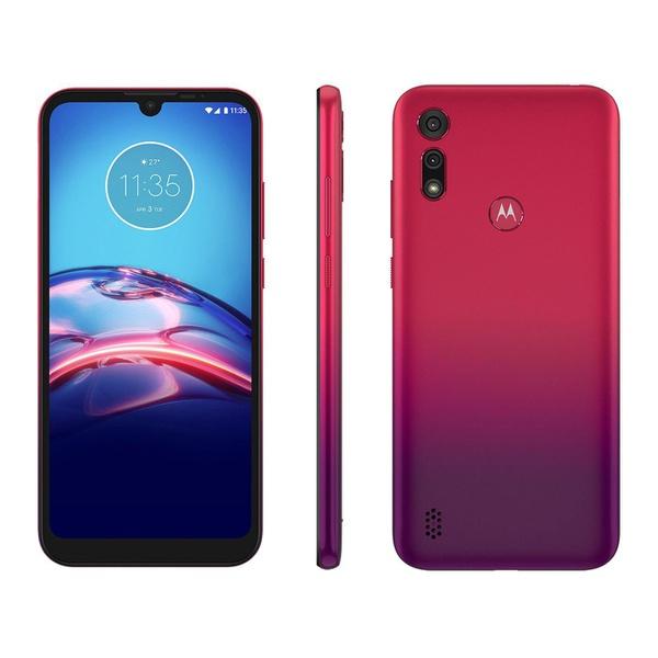Smartphone Motorola Moto E6S 64GB Vermelho Magenta - 4GB RAM