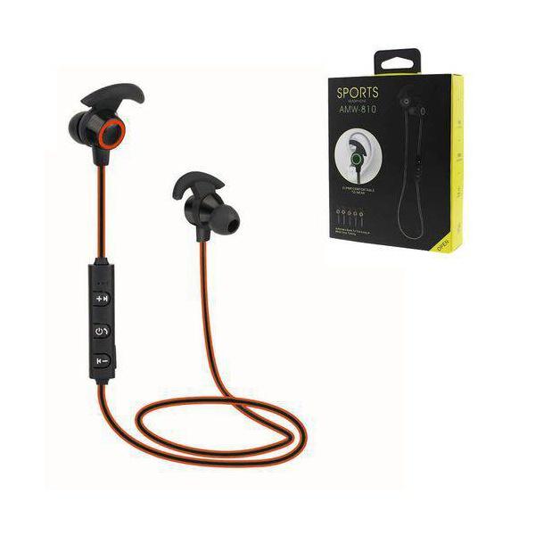 Fone Bluetooth Dois Lados Sports Amw-810