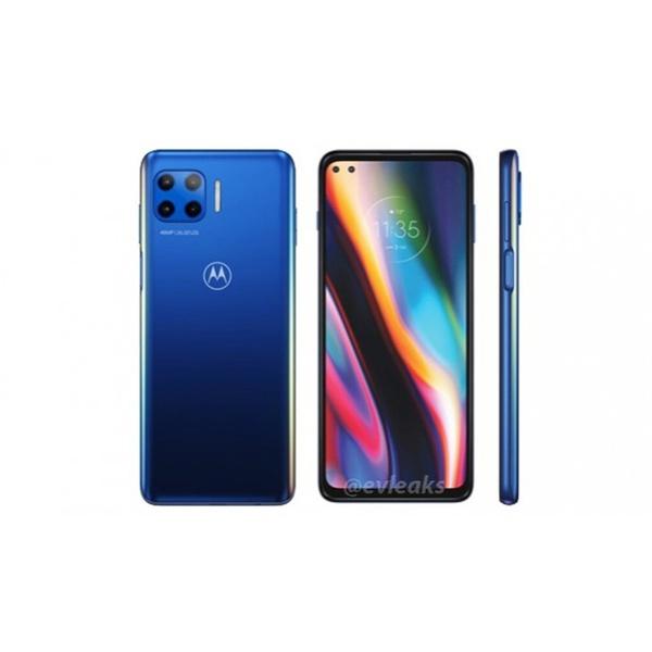 Smartphone Motorola Moto G 5G Plus 128GB - Qualcomm Snapdragon 765 8 GB RAM Câm. Quádrupla 48 MP - Azul