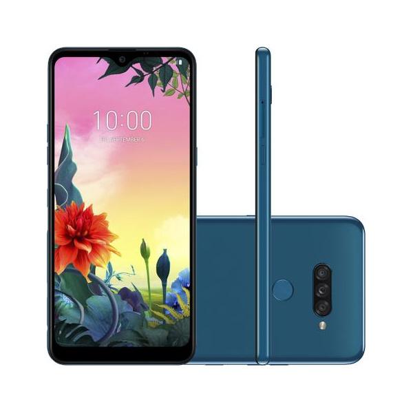 "LG K50s 32GB Dual Chip Android 9.0 Tela 6.5"" Octa Core Azul"