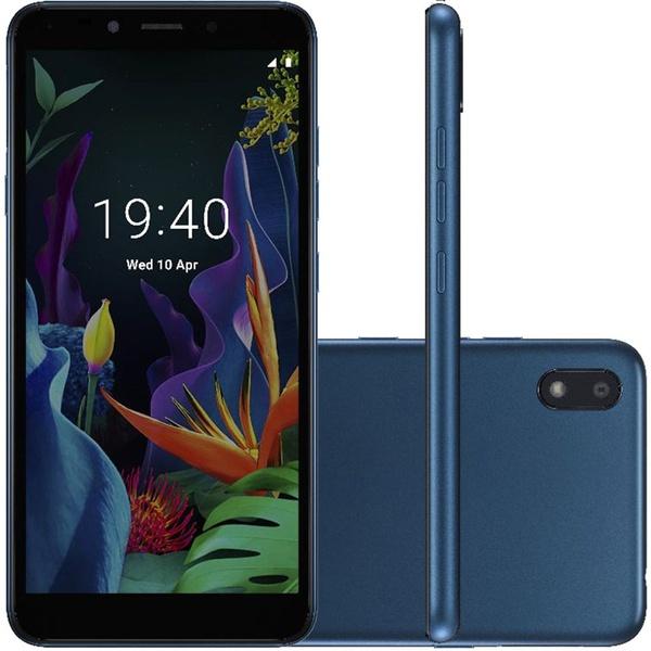 "Smartphone LG K8+ 16GB Dual Chip Android 7.0 Pie 5.4"" 4G Câmera 8MP - Azul"