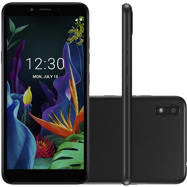 "Smartphone LG K8+ 16GB Dual Chip Android 7.0 Pie 5.4"" 4G Câmera 8MP - Preto"