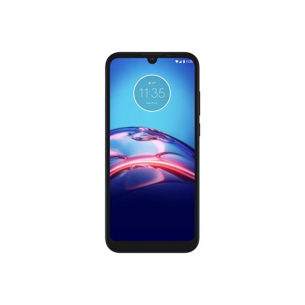 Smartphone Motorola Moto E6S 32gb Tela Max Vision 6,1 Camera 13Mp + 2Mp Dual chip octa core- azul