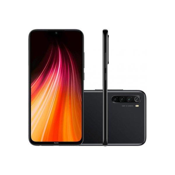 Smartphone Xiaomi Redmi Note 8 64GB - Preto