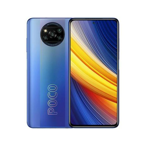 """Poco X3 PRO Tela 6,67"""" 8GB/256GB Azul 4 Câmeras"""