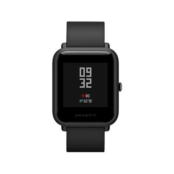 Relogio Amazfit Bip smartwatch Mi para android e Ios - Preto