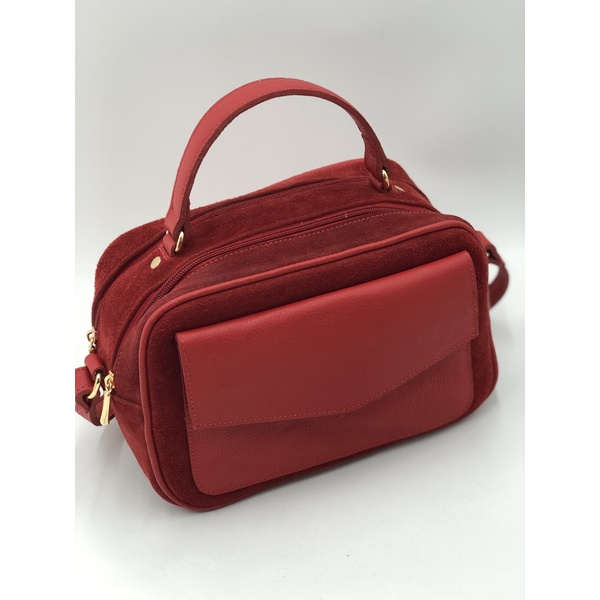 Bolsa Lizandra Vermelha