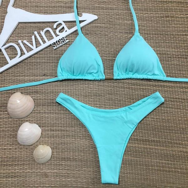 Biquíni Ibiza Azul Água
