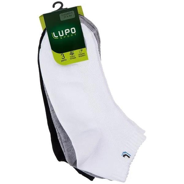 Meia LUPO Walk Sport Kit com 3