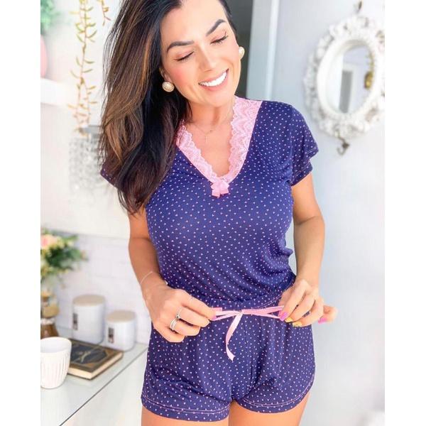 Pijama Lívia Marinho Corações